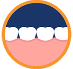 Lingual braces at Freedman and Haas Orthodontics of West Palm Beach, FL