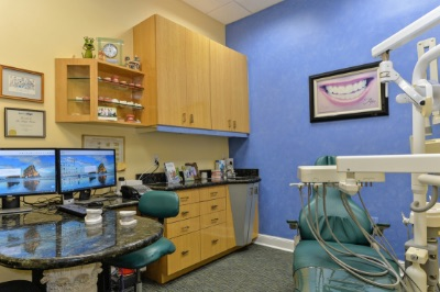 west palm beach orthodontist treatment room